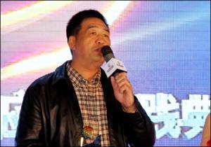 小松(中国)投资有限公司IT本部长张洪发表获奖感言