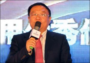 合肥湘元工程机械有限公司董事长周驰军发表获奖感言