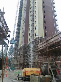 南京苏宁总部施工现场