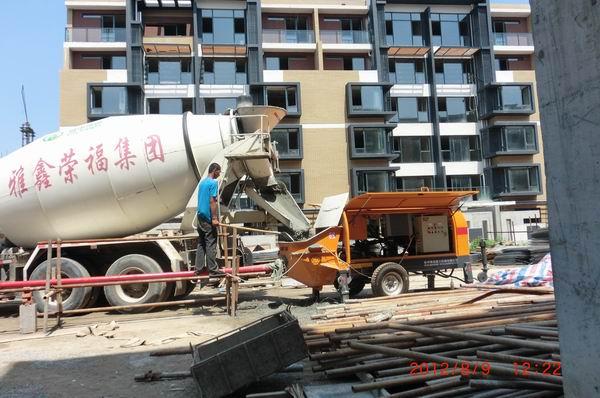 霸州津港国际现场施工照片