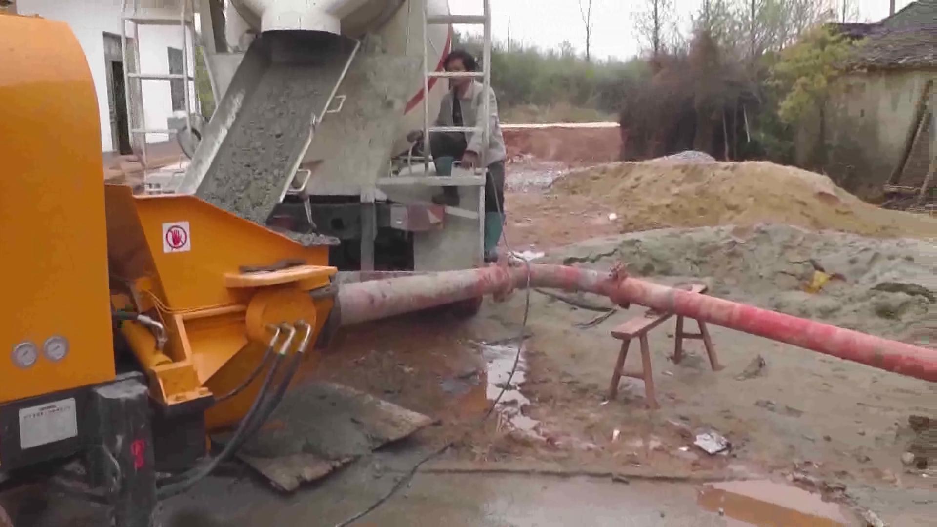 小型民用泵施工视频2