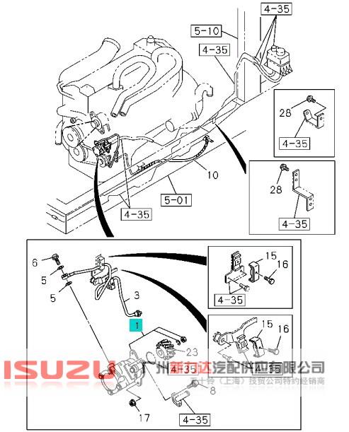 转向助力泵限压阀分享展示图片