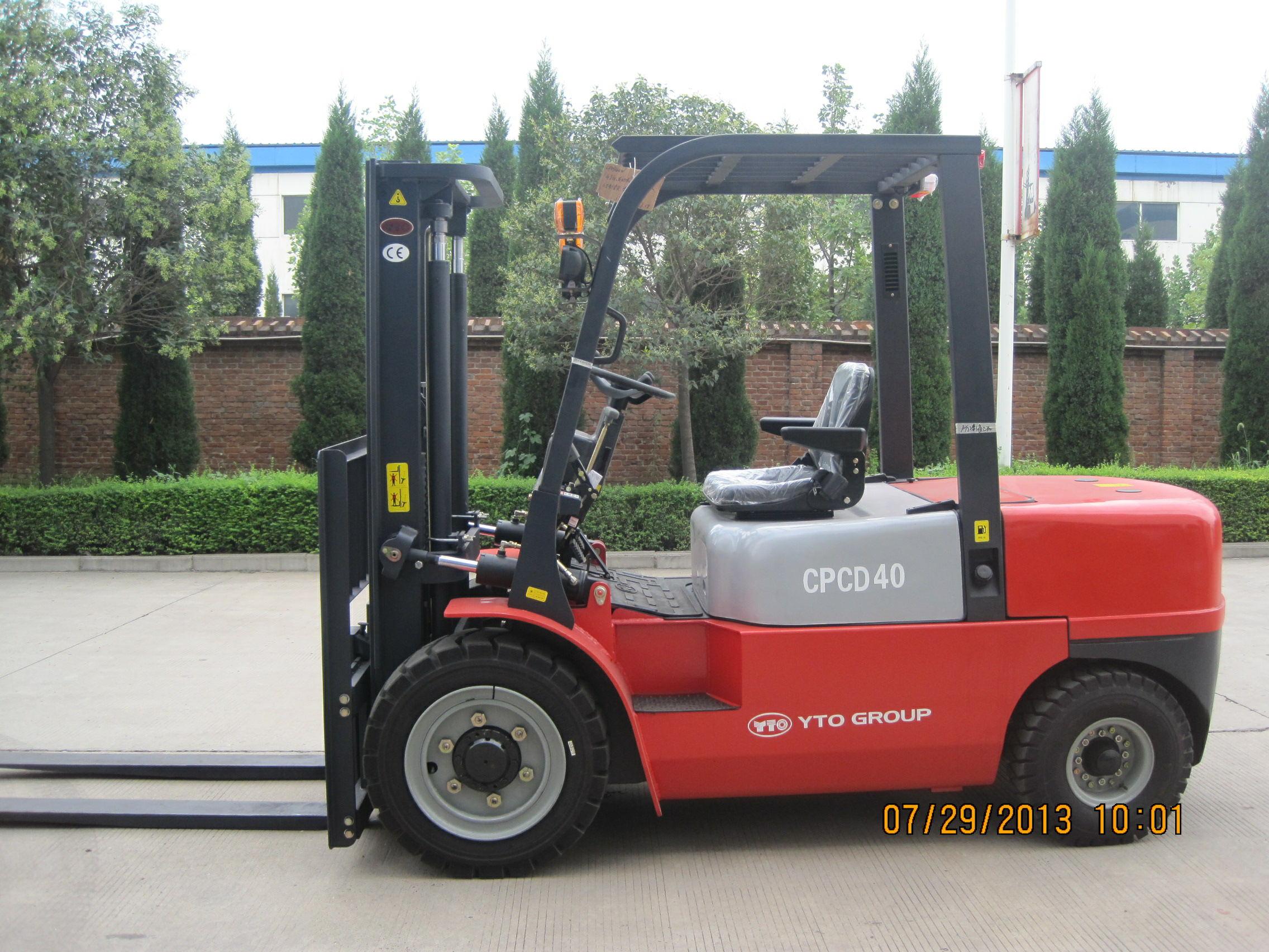 4 ton YTO diesel forklift CPCD40