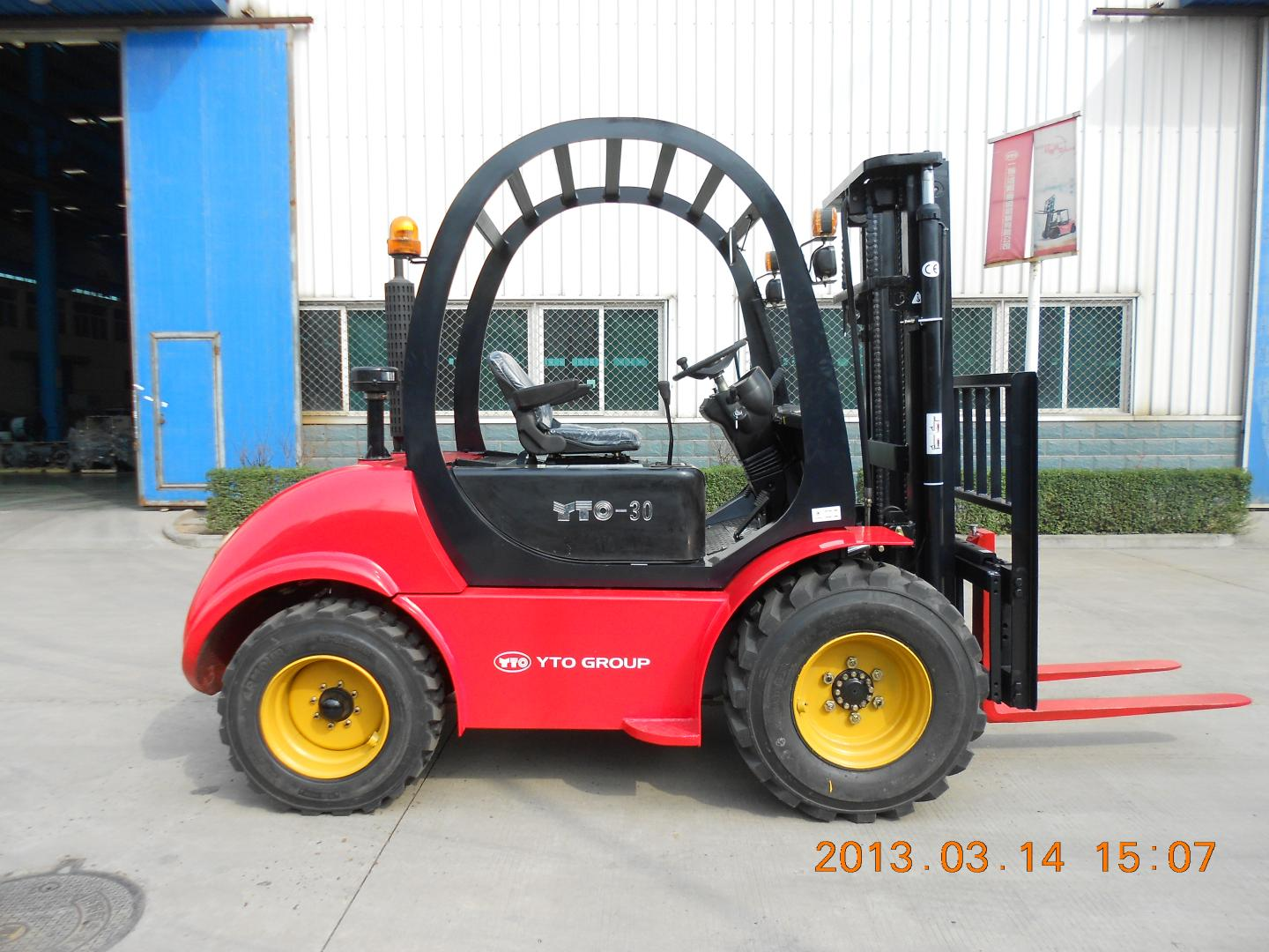 YTO 3ton off-road forklift CPCD30