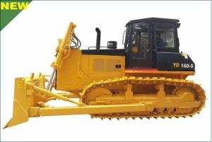 YTO YD160-5 hydraulic crawler bulldozer, New model on sale.