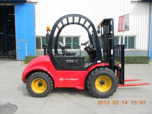 YTO off-road forklift 3ton CPCD30