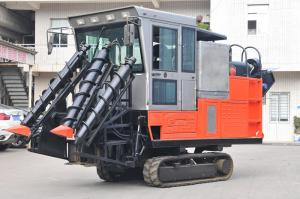 Crawler whole stalk type sugarcane combine harvester 4GL-1