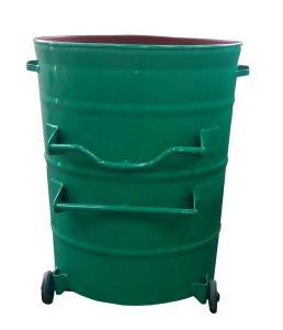 室外金属垃圾桶