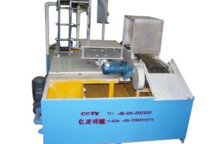 Chain positioning quenching machine