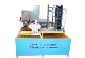 Horizontal quenching machine