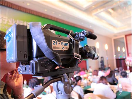 2012中国工程机械行业人力资源管理高峰论坛视频拍摄现场
