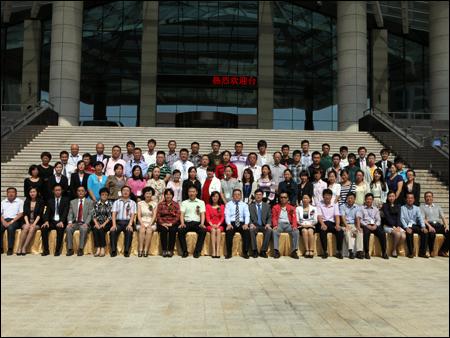 2012中国工程机械行业人力资源管理高峰论坛与会嘉宾大合影
