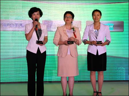 2012中国工程机械行业雇主品牌评选发布会颁奖