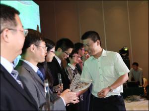 2012中国工程机械行业雇主品牌评选发布会现场