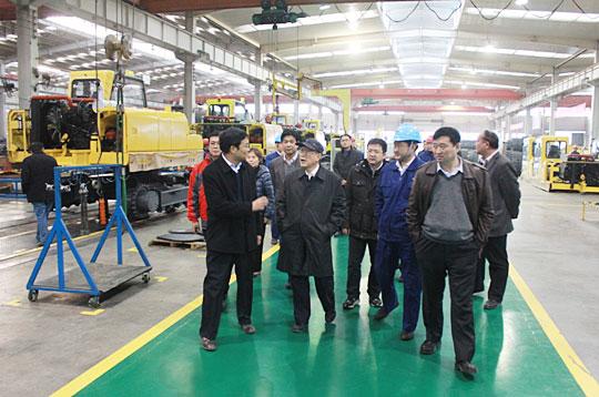 中国机械工业联合会领导来力士德公司考察
