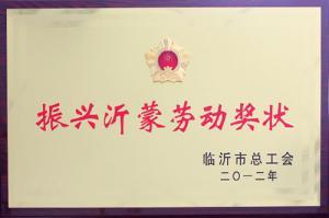 Labor Medal for Invigorating Yimeng Region