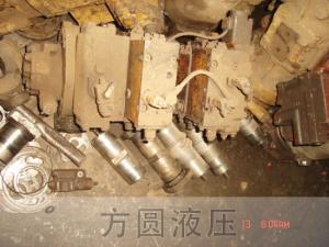 挖掘机拆车件10