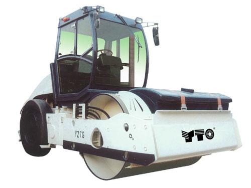 洛阳YZ7G单钢轮振动压路机