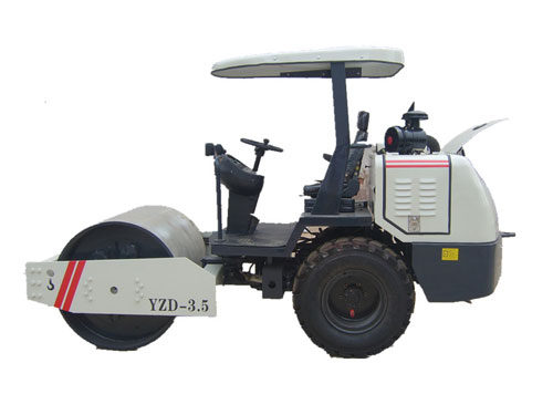 直供迈图娱乐路德YZD-3.5吨单钢轮振动压路机