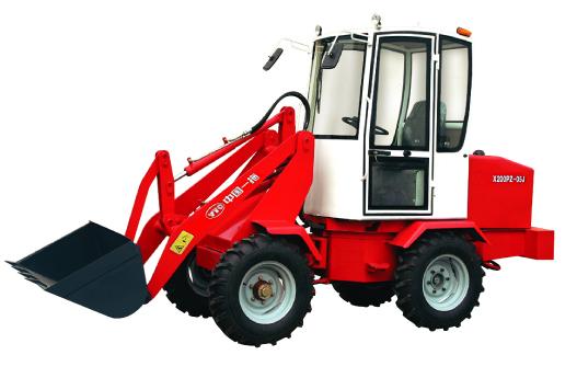 东方红605单缸四驱小型装载机