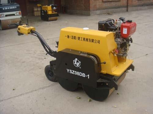 迈图娱乐YSZ08DB-1小型手扶双钢轮振动压路机
