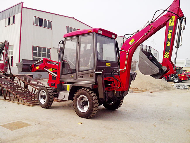 一拖东方红WZ30-05挖掘装载机