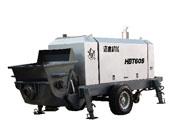 一拖洛阳HBT60S、HBT60C、HBT60D、HBT70RS拖式混凝土输送泵