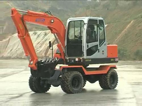 XY65W-8 excavator tires show