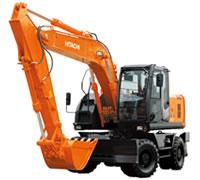輪式挖掘機