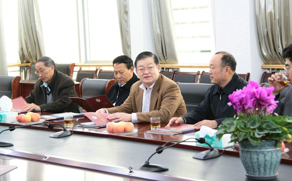 President of Shandong Building Machinery Industry Association visits Feilong Group