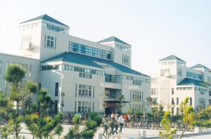 Teaching Building for Science School of Yantai University won Taishan Cup 2003