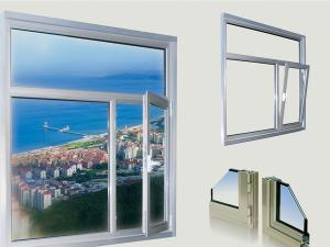 FLGR50 Thermal-Insulating Tilt & Turn Window