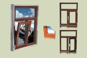 FLGR55 Thermal-Insulating Tilt & Turn Window