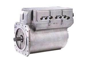 一体化电机及其控制器