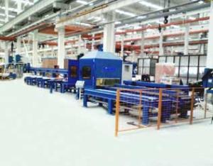 型材机器人切割生产线