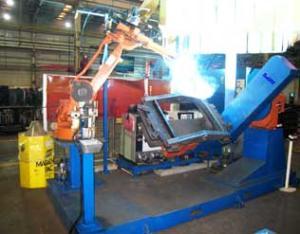摆动架机器人焊接系统