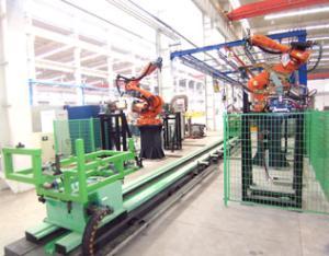 机器人点焊系统1