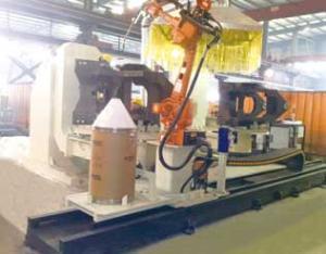 前车架双工位焊接机器人