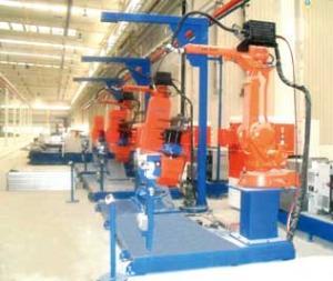 摇臂机器人焊接系统