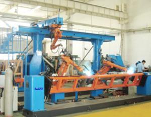 塔机部件机器人焊接系统