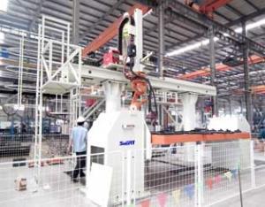 搅拌缸左右端板机器人焊接系统