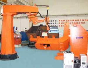 压路机柴油箱机器人焊接系统
