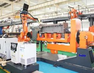 熨平板机器人焊接系统