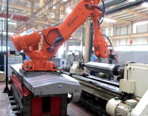 激光毛化机器人系统