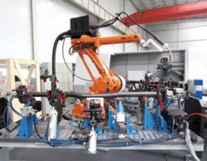 仪表板支架机器人焊接系统