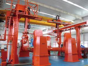 塔机转台机器人焊接系统