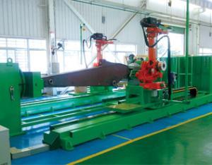 双机器人斗杆焊接系统