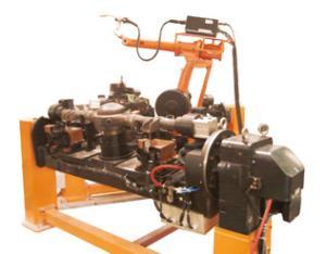 车桥附件机器人焊接系统