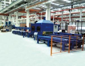 型材机器人切割生产线1
