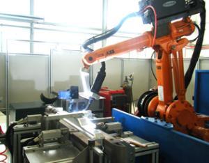 铝合金散热片机器人焊接系统